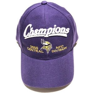 Minnesota Vikings 2000 Central Division Champs Hat